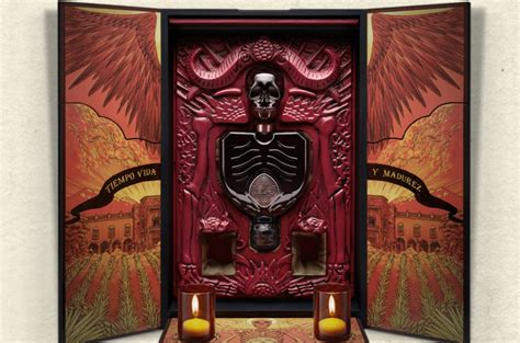 Dark Orange by Guillermo Del Toro And Patron Partner For Coolest Tequila