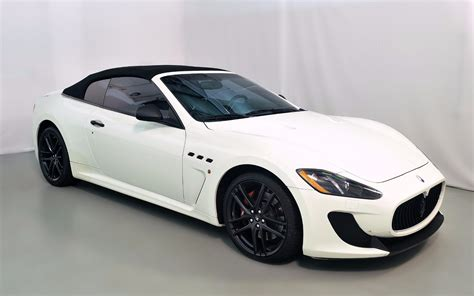 maserati granturismo 2013 2013 maserati granturismo mc convertible sport for sale in