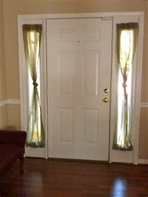 narrow window curtain ideas front door treatments on pinterest window treatments