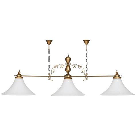 Vintage Italian Chandelier In Murano Glass For Billiard Or Pool Table Chandelier
