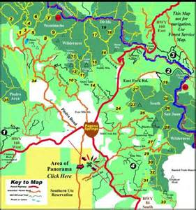 hiking map colorado 1000 images about pagosa springs colorado on