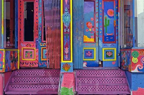 colorful door old colorful doors door to door spaces pinterest