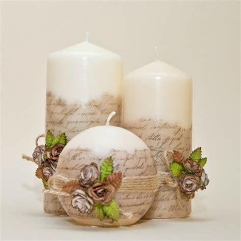 como decorar velas de navidad decorar velas para dar un toque original al interior