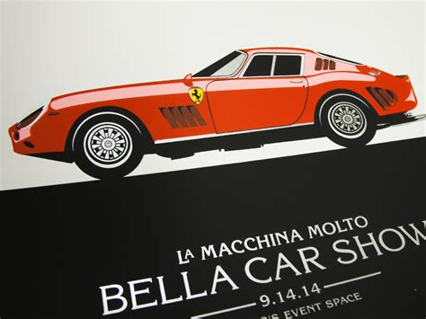 Poster Auto by 427 Design 187 Archive 187 Car Show Poster