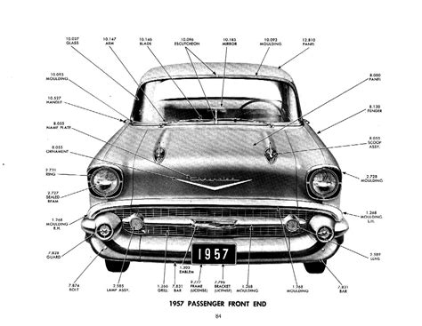 1929 1957 chevrolet master parts accessories catalog