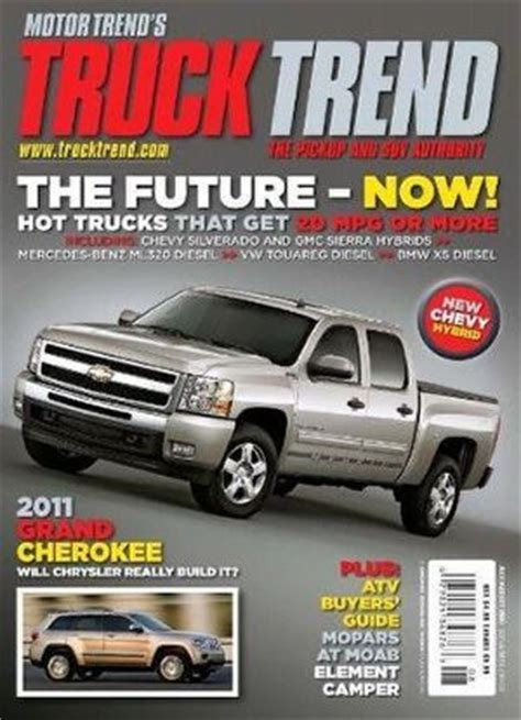 Trend Magazine truck trend magazine best subscription deal on