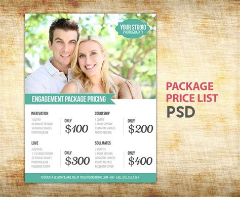 Best 25 Photography Price List Ideas On Pinterest Photography Marketing Photography Pricing Photography Package Pricing Template