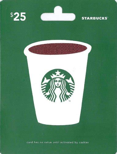 Star Bucks Gift Cards - starbucks gift card 25 shop giftcards