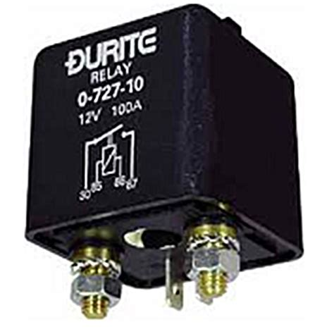 0 727 10 durite heavy duty 100a relay 163 15 42 alm