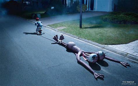 dragging but child dragging creature with bike digital design hd wallpaper view