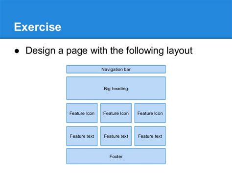 design page layout using bootstrap introduction to bootstrap