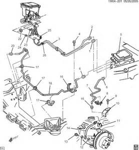 Brake Line Diagram 1998 Chevy S10 1999 Chevy Silverado Brake Line Diagram Autos Post