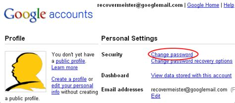 gmail password reset link generator how to change gmail password detailed step by step guide
