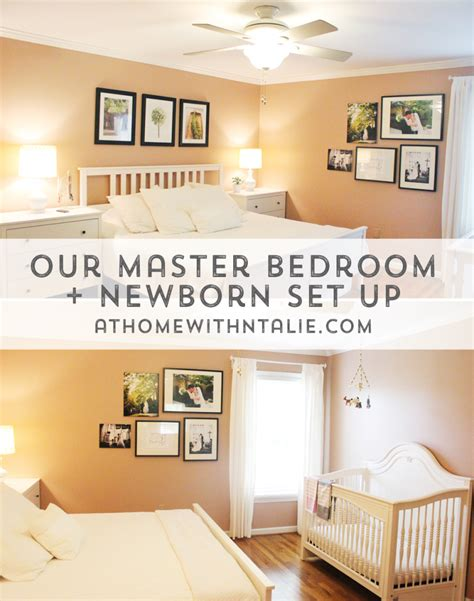 nursery in bedroom master bedroom nursery archives at home with natalie