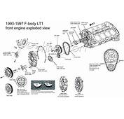 4th Gen LT1 F Body Tech Aids Drawings &amp Exploded Views