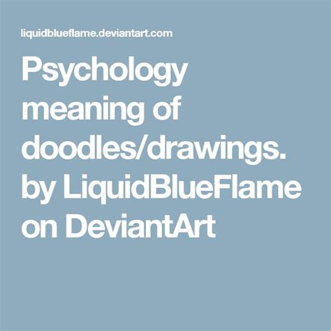 doodle meaning psychology 1000 ideas about meaning of doodle on