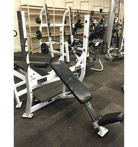hammer strength incline bench hammer strength olympic incline bench press station able