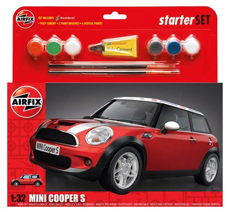Mini C Cooper D Must Have by Airfix A50125 Mini Cooper S Starter Set 1 32