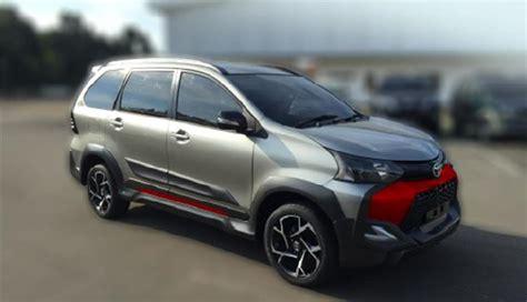 Lu Depan Toyota Avanza Gantengnya Toyota Avanza Tigre Tak Kalah Dari Mitsubishi
