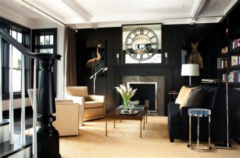 black living room decor using black as the main color for your interior d 233 cor