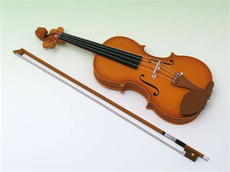 Violin Papercraft - violon