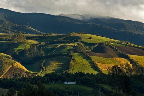 landscape of southern colombia photograph by eric bauer