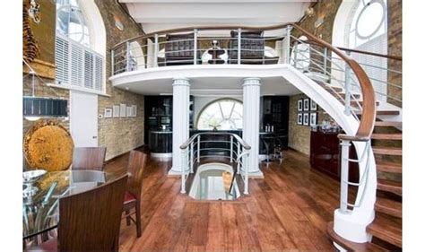 boat themed loft apartment  london idesignarch