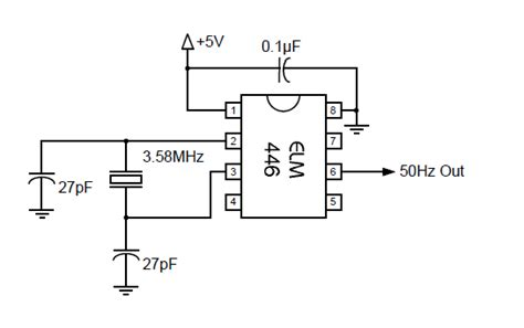 layout rangkaian running led rangkaian 50hz accurate oscillator kickuctutorial