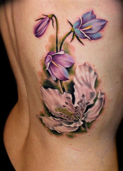 flower rib tattoos 13 best images about flower tattoos on flower