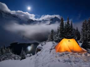 Camp Comfort Colorado Winter Camping At Blue Lakes Mountain Photographer A
