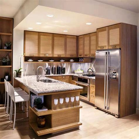 Interior Decoration In Kitchen Small House Kitchen Design Dgmagnets