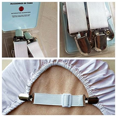 bed suspenders adjustable bed sheet grippers cover suspenders set of 4