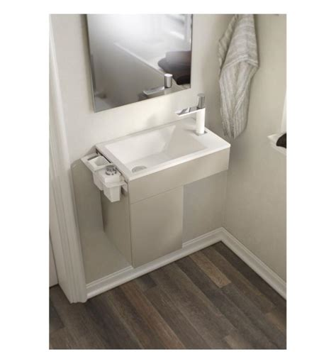 sonia bathroom vanity sonia 163243 puzzle 19 1 2 quot wall mount right side single