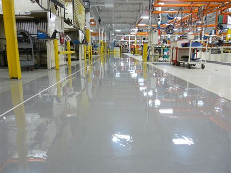 Seamless Floor Coatings   Polished Concrete Kansas City