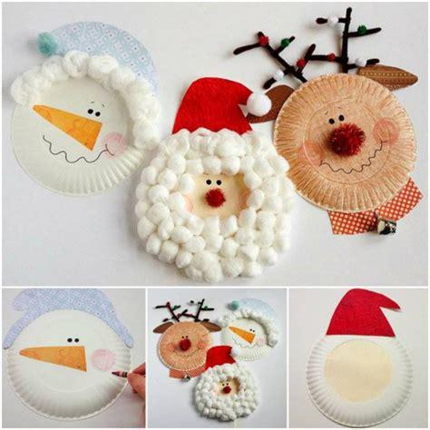 Basteln Mit Papptellern Weihnachten by Anleitungen Basteln Mit 2j 228 Hrigen Kindern F 252 R Weihnachten