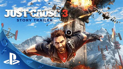 Istimewa Ps4 Just Cause 3 just cause 3 story trailer ps4