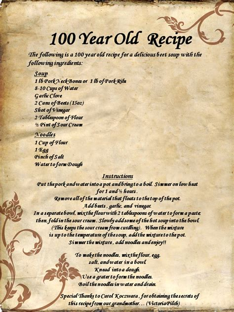 christmas recipes for 8 year old 100 year recipe favorite recipes recipes vintage recipes and soups
