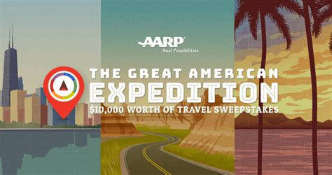 Aarp Sweepstakes 2017 - aarp great american expedition 10 000 worth of travel