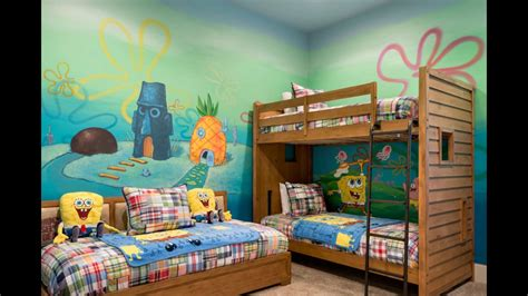 spongebob bedroom ideas spongebob bedroom youtube
