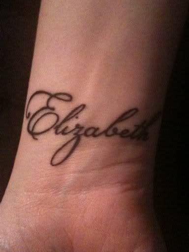 tattoo lettering elizabeth my name tattoo elizabeth name tattoo inspiration likes