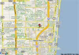 map boca raton florida map of hton inn boca raton boca raton