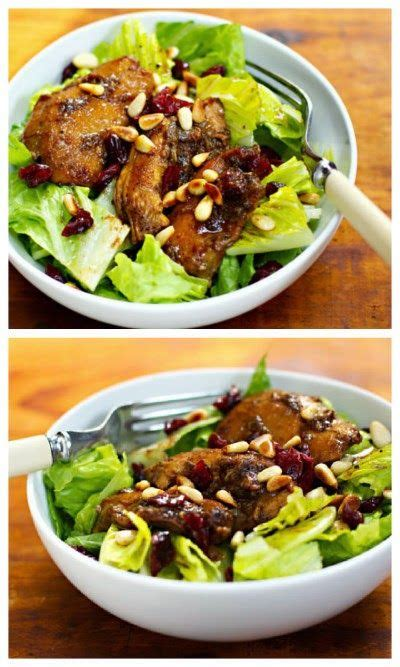 cooker pomegranate chicken salad from the