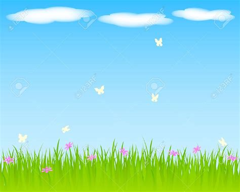 background clipart sky and grass clipart clipartxtras