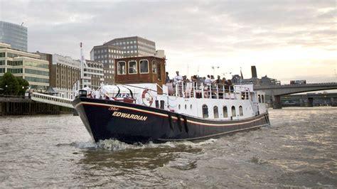 boat trip london edwardian luxury london party boat hire fleet thames