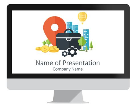 Home Design Unlimited Coins Local Business Powerpoint Template Presentationdeck Com