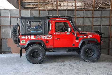 land rover philippine team land rover philippines side view land rovers