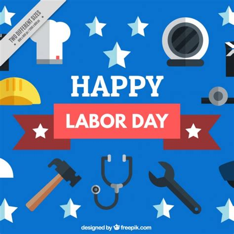 Happy Labor Day by Happy Labor Day Vector Free