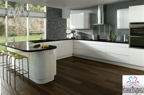 Kitchen Remodeling Colors - 20 white kitchens with dark floors ideas decorationy