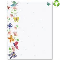 butterfly border template floral butterflies border papers paperdirect