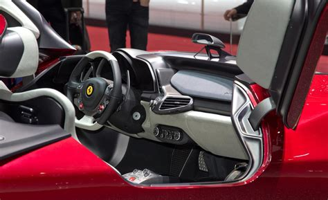 ferrari pininfarina sergio interior car and driver
